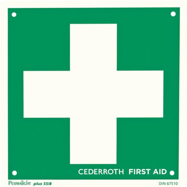 Schilder Rettungszeichen