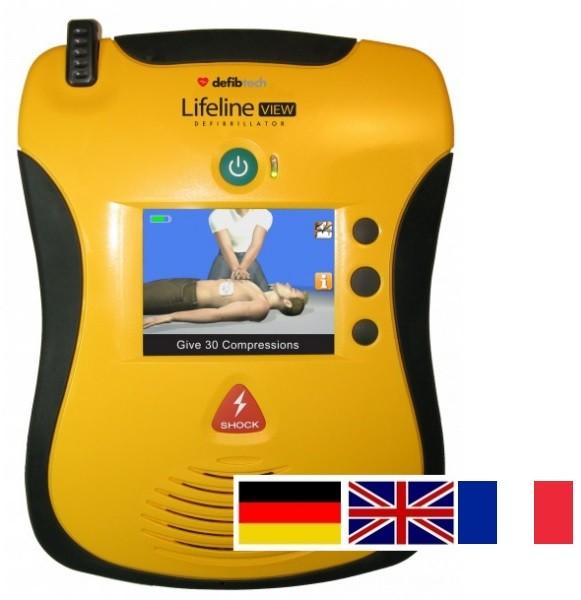 Defibtech View AED Zweisprachig Halbautomat