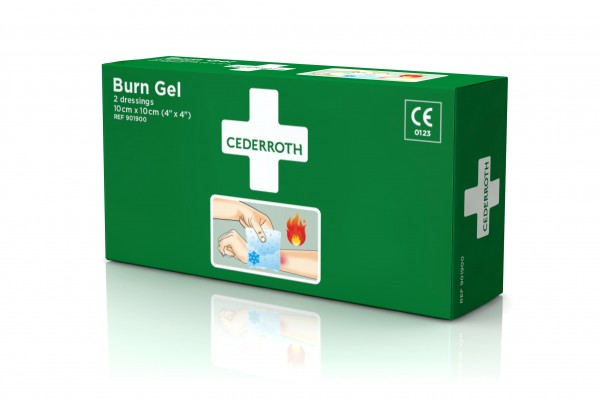 Cederroth Brand Gel Auflage 2Stück