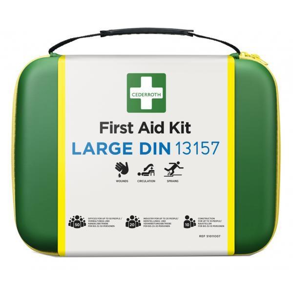 Erste-Hilfe-Set DIN 13157, im Softcase CEDERROTH