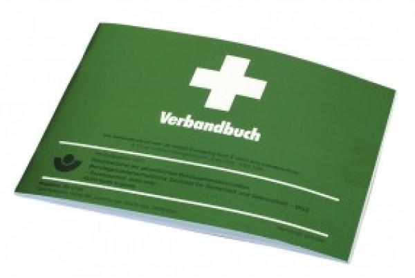 Verbandbuch in Größe DIN A5