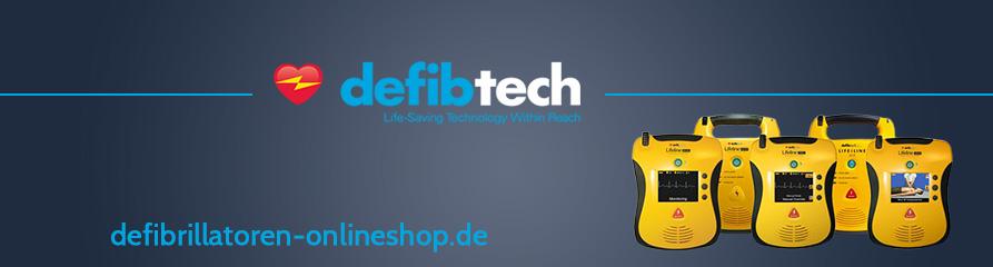 Defibtech Defibrillatoren Banner